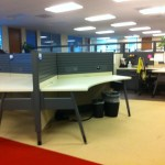 Pre owned Haworth Premise Benching Systems