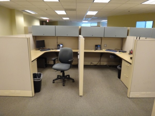 Used Herman Miller Q Workstations 6x6 or 6x83