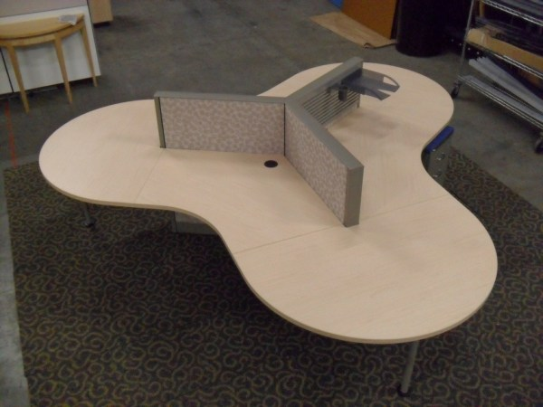Used 6x8 or 6x6 or 8x8 Steelcase Answer with 54 high panels5