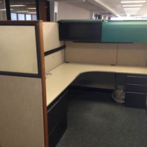 Used Knoll Morrison 6x8 cubicles2