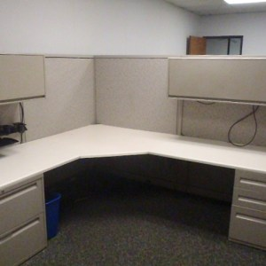 Used Steelcase Avenir 8x8 Cubicles in Dallas2