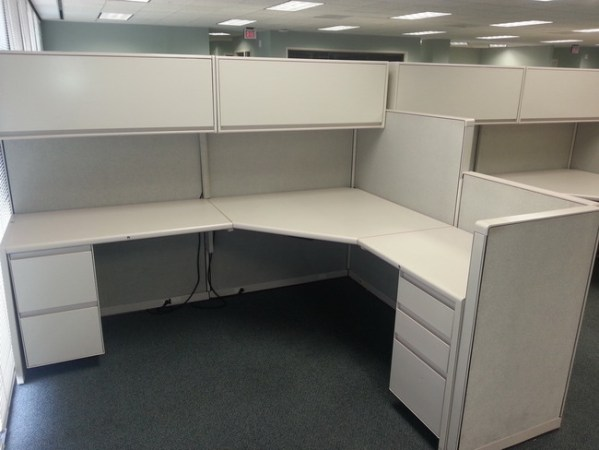 8X6 Pre Owned Steelcase Cubicles