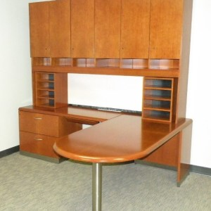 Geiger L Shape With Hutch In Dallas1