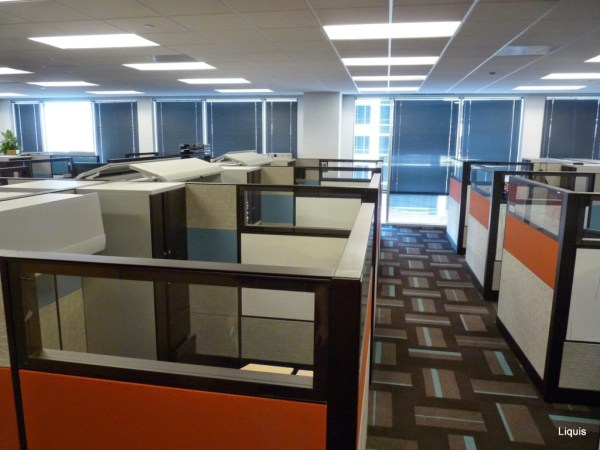 Used Teknion Cubicles
