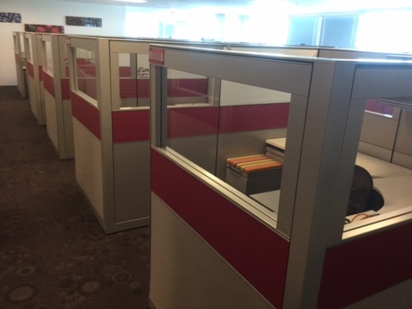 Herman Miller Canvas Cubicles for Sale - Loaded