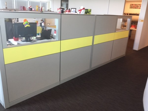 Herman Miller Canvas Cubicles - Must Go