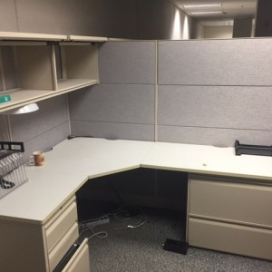 "Teknion 7 x 5 Cubicle 66"" H panels - Non Powered   - Sold"