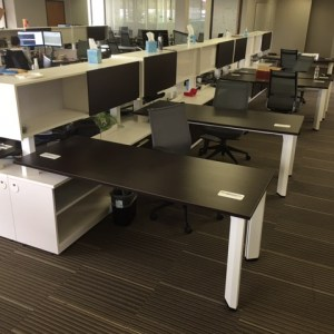 Friant Dash Benching Cubicles