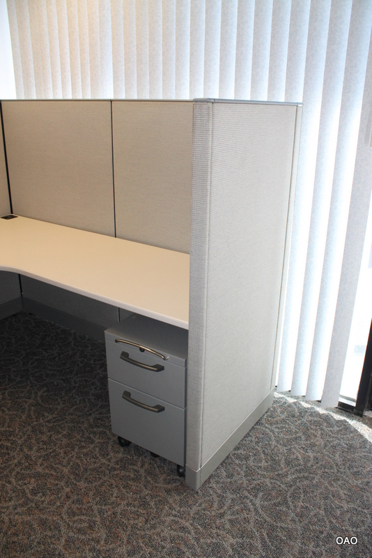 Inexpensive Knoll Morrison 6X6 Cubicles