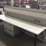 Knoll Currents Benching Cubicles