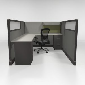 "QuickCubicles 53"" Tall, Loaded"