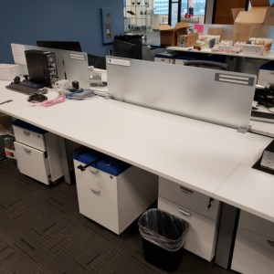 AMQ Benching Cubicles For Sale