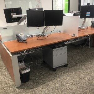 Teknion Benching Cubicles