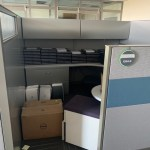 steelcase answer cubicles 8×8 loaded 4
