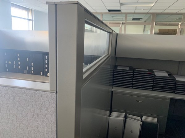 steelcase answer cubicles 8x8 loaded