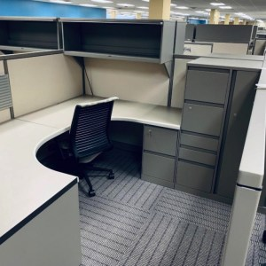 steelcase avenir cubicles with tower 2