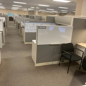 haworth premise cubicles for sale 8x6 8x7 3