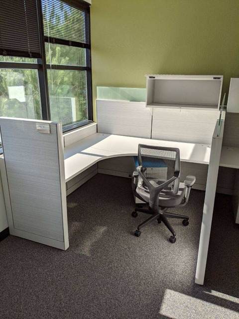 Allsteel Terrace Cubicles, Chair Included