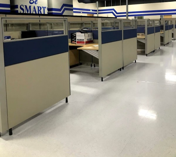 herman miller canvas cubicles 6x8 or 7x7 4