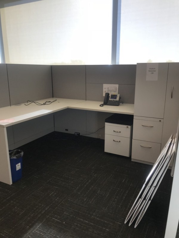 steelcase answer cubicles w tower free task chair 5