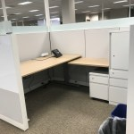 steelcase-answer-cubicles-6×8-with-adjustable-height-desk