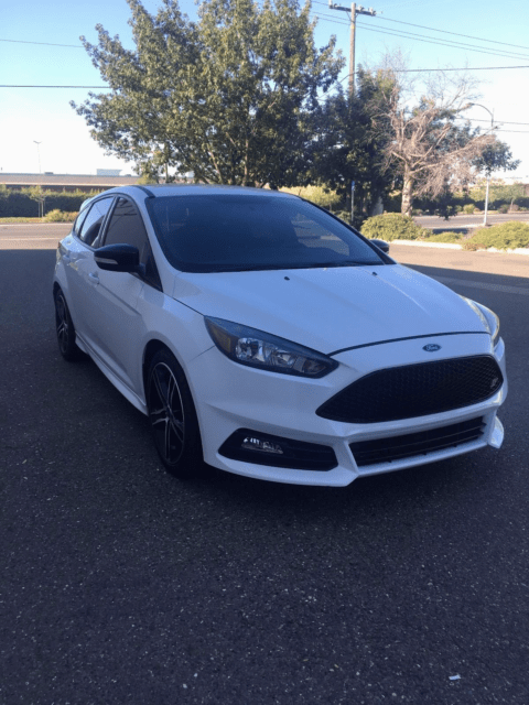 2016 ford focus st 6 speed only 6k miles cobb roush exhaust over 260 hp 1fadp3l99gl362982