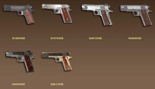 Colt pistols