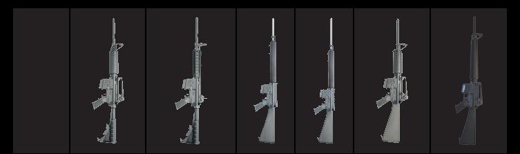 Colt Match Rifles