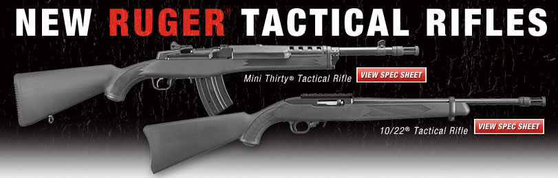 New Ruger Tactical Rifles