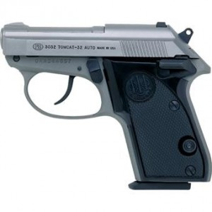 Beretta Bobcat .32 Caliber - The Perfect Pocket Pistol Inox Finish
