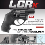 New Ruger LCRx