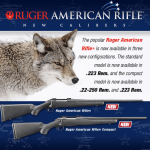 Ruger American Rifle in new calibers