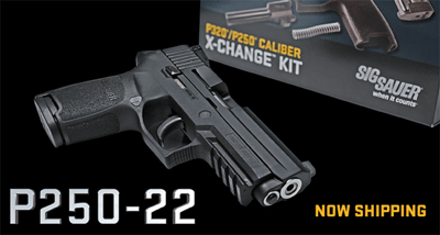 P250-22 Save ammo with interchangeable barrels