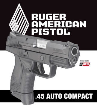 Ruger.45 auto compact