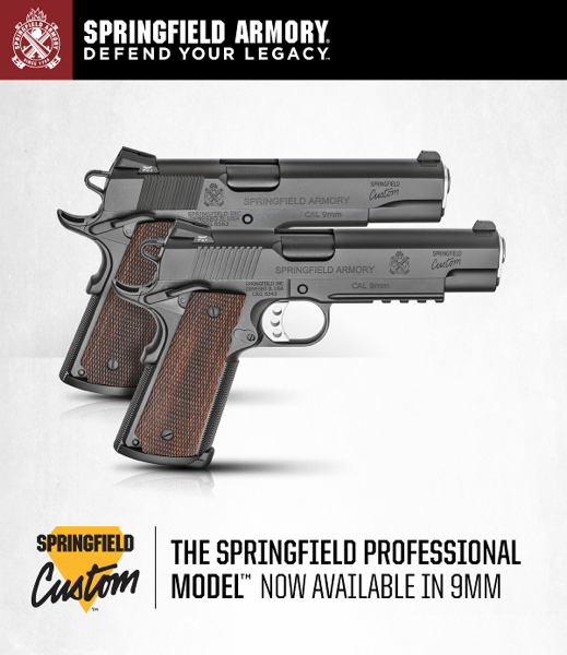 SPRINGFIELD CUSTOM™ Hand-Built by the Masters - 1911s from Springfield Custom