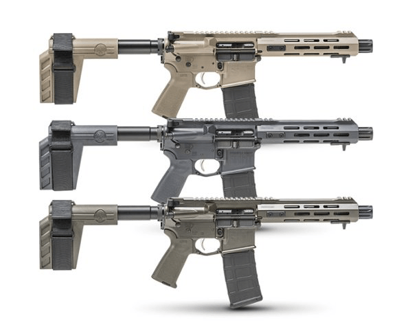 SAINT™ Pistol Cerakote Editions - OD Green, Desert FDE, and Tactical Gray