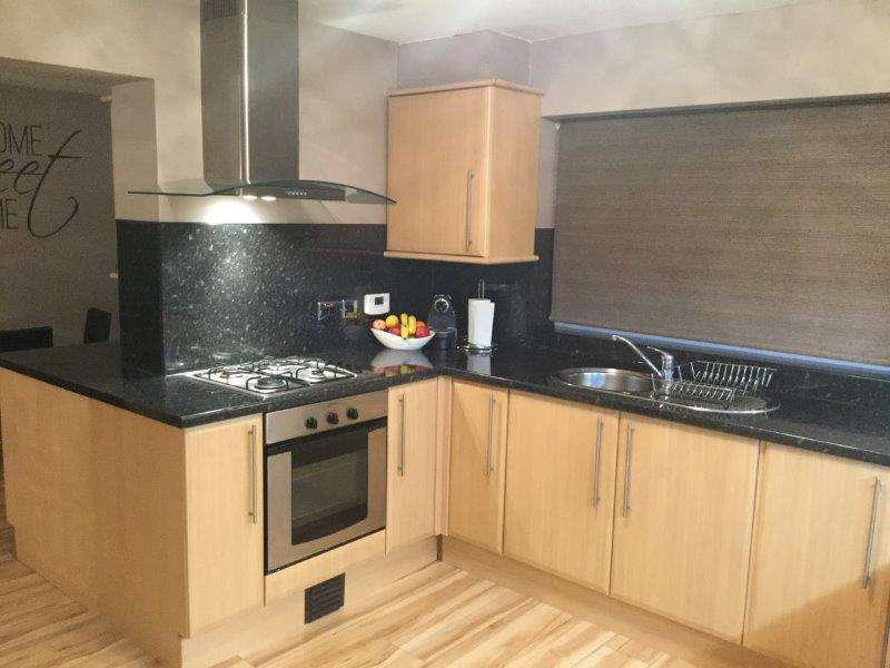 Wood Effect Laminate Kitchen Black Granite Effect Laminate Worktops