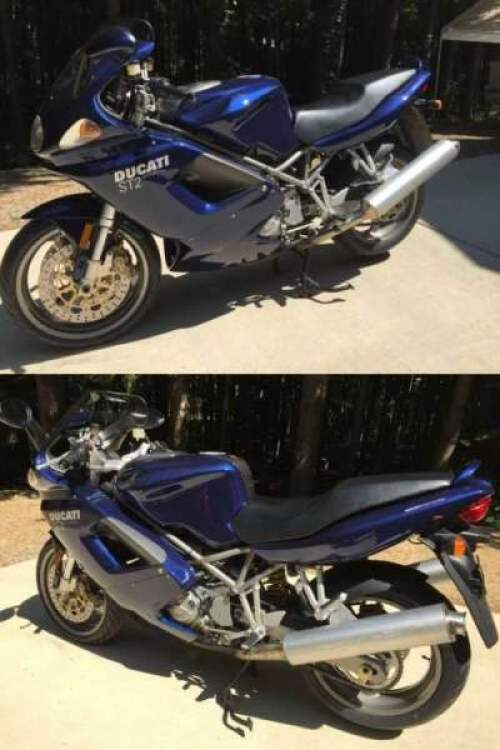 2001 Ducati Sport Touring Blue For