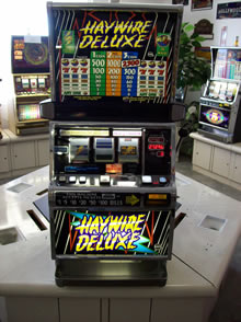 Haywire Slot Machine For Sale