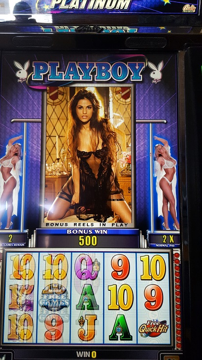 Slot machine playboy the movielife has a gambling problem
