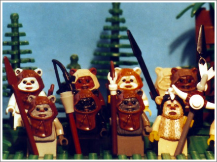 Ewoks! Russ and Todd can name them all.