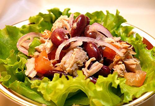 Салаты из консервированного тунца | Правильное питание