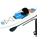 HydroForce White Cap Inflatable Stand Up Paddleboard SUP and Kayak 10′ – Best Combo SUP/Kayak