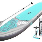 ISLE 10'4 Airtech Inflatable Yoga Stand Up Paddle Board – Best Graphic Designs