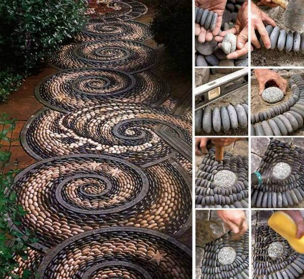 16 Simply Beautiful DIY Projects With Stone and Rocks Torn From Fairy Tales usefuldiyprojects landscaping decor (15)