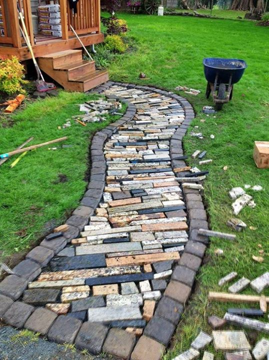 16 Simply Beautiful DIY Projects With Stone and Rocks Torn From Fairy Tales usefuldiyprojects landscaping decor (5)