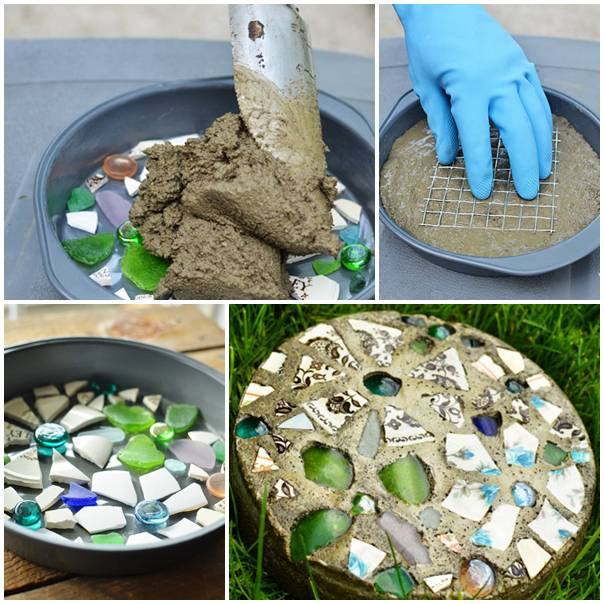 16 Simply Beautiful DIY Projects With Stone and Rocks Torn From Fairy Tales usefuldiyprojects landscaping decor (8)