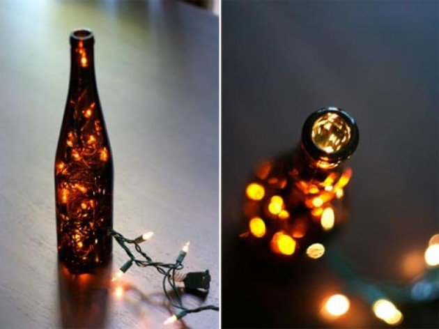 17 Fascinatingly Beautiful DIY Wine Bottle Crafts To Accessorize Your Decor usefuldiyprojects.com (4)