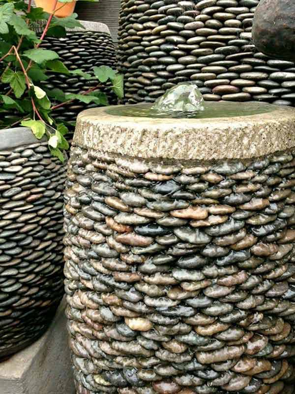 21 Lovely DIY Decor Ideas Emphasized by Creative Pebbles Art  usefuldiyprojects.com crafts (11)