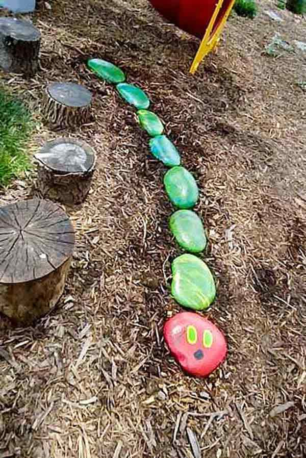 21 Lovely DIY Decor Ideas Emphasized by Creative Pebbles Art  usefuldiyprojects.com crafts (6)